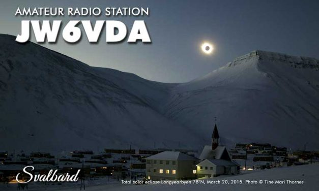 [CANCELLED] JW6VDA – Svalbard