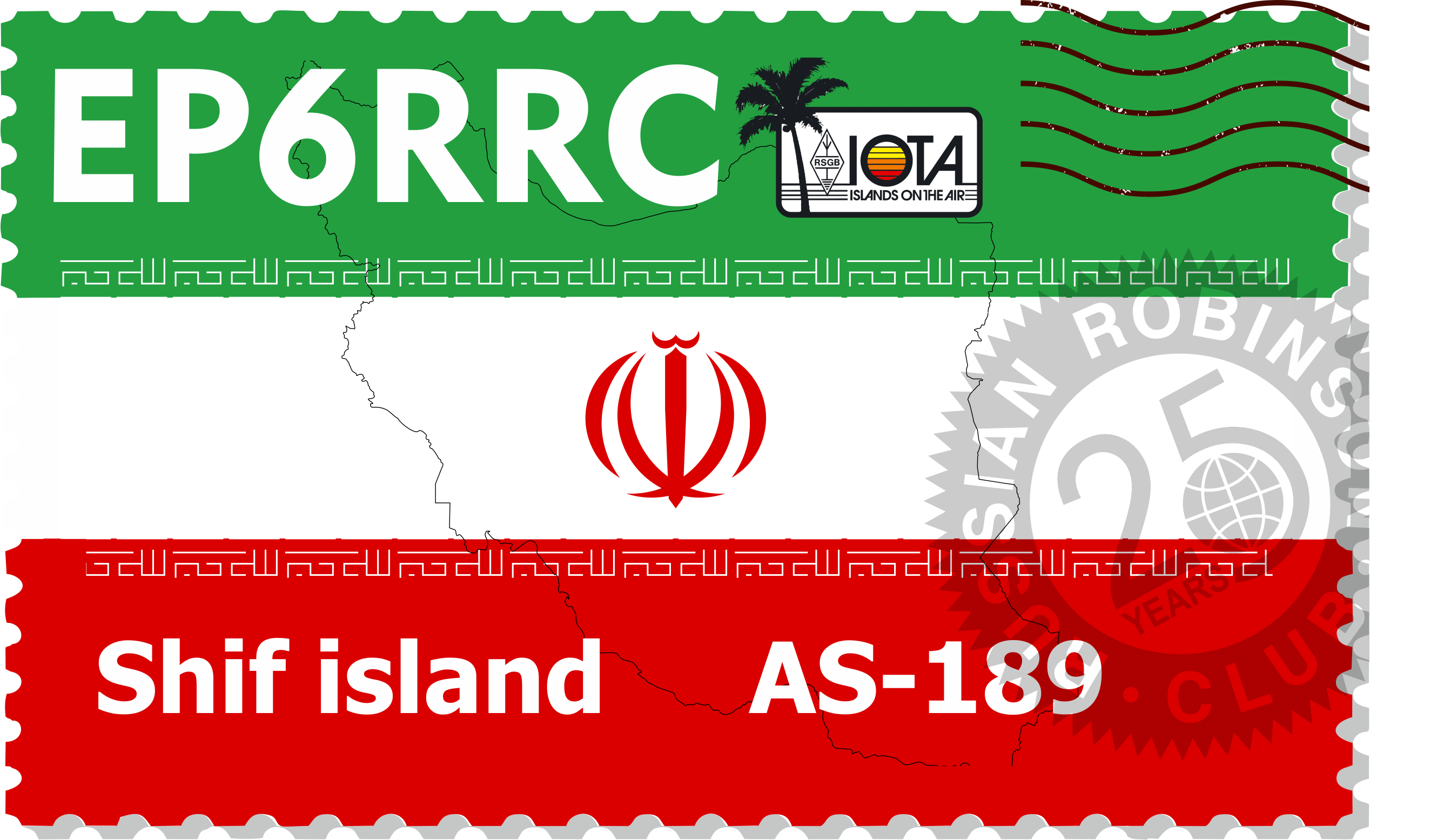 EP6RRC – Shif Island, AS-189NEW
