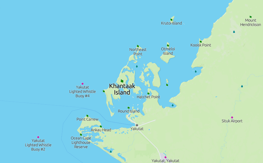 K7Y – Khantaak Island, NA-250NEW (Alaska)