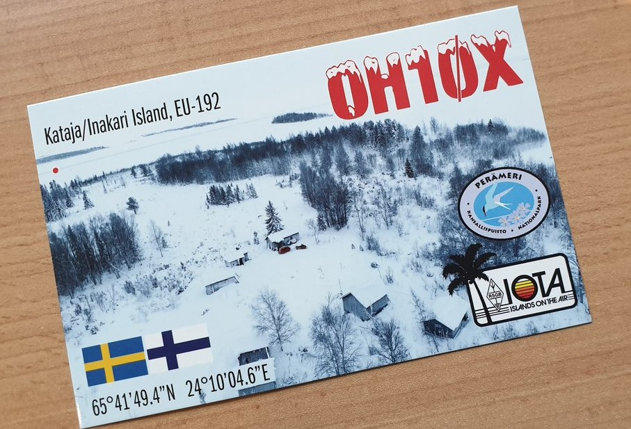 QSL preview – OH10X, EU-192