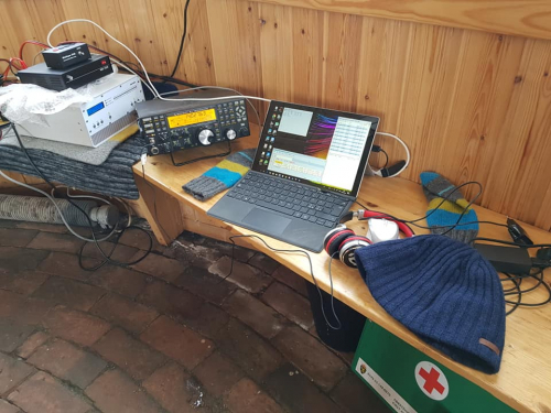 650 QSOs made by JX7GIA