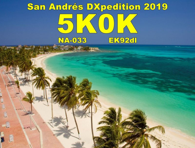 Video – 5K0K San Andres