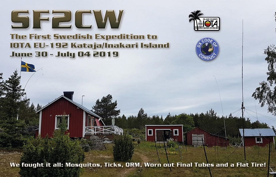 QSL preview – SF2CW