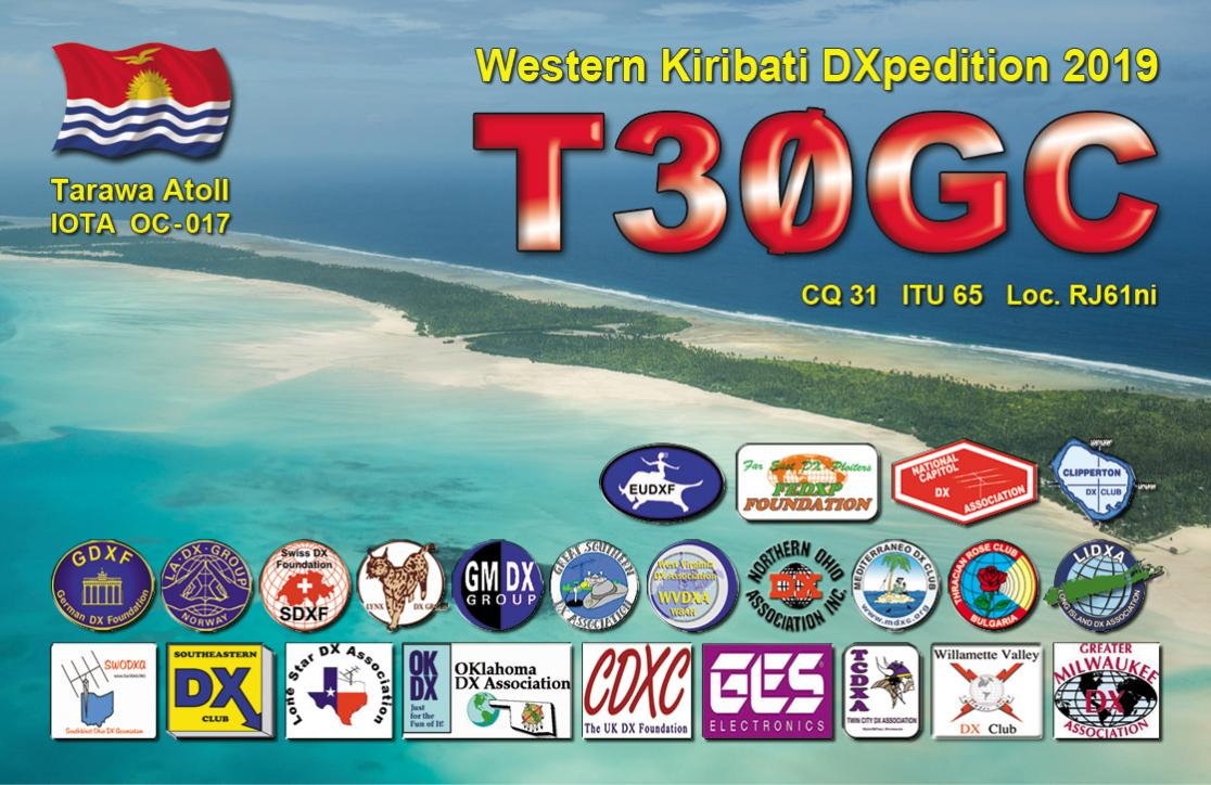 QSL preview – T30GC