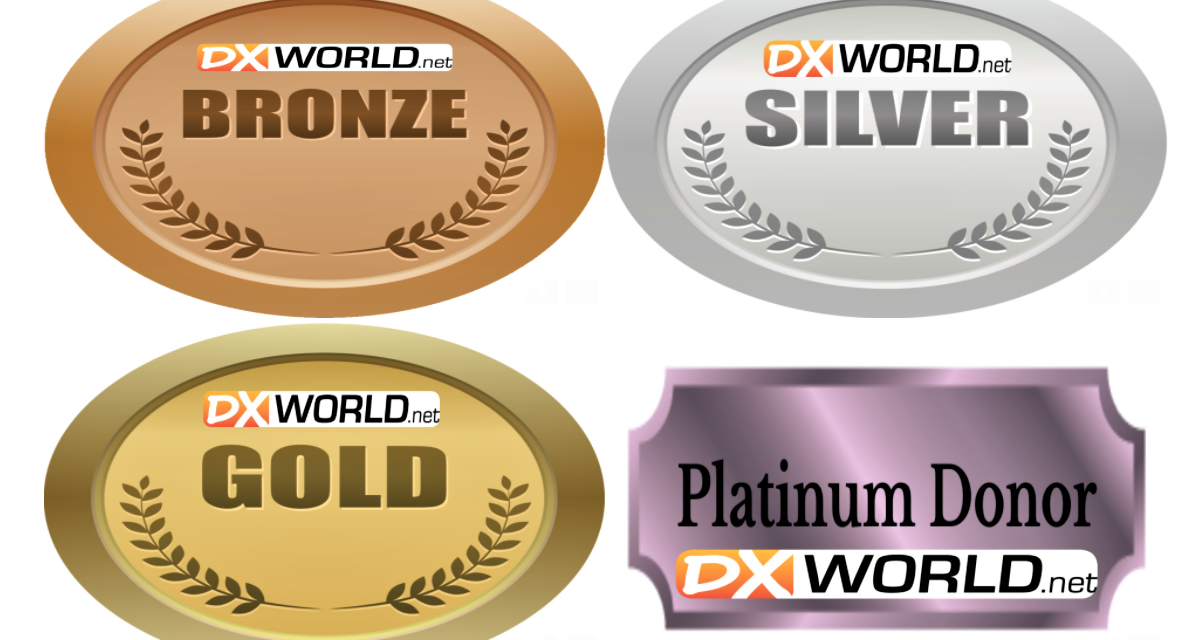 BECOME A 2021 DX-WORLD SUPPORTER!
