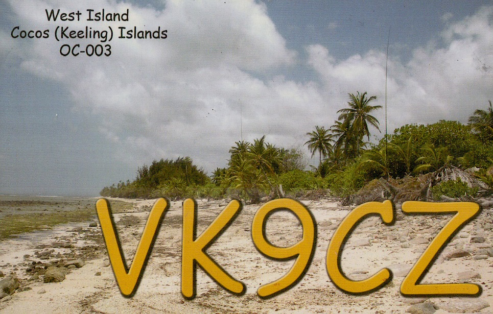 QSL preview & story – VK9CZ