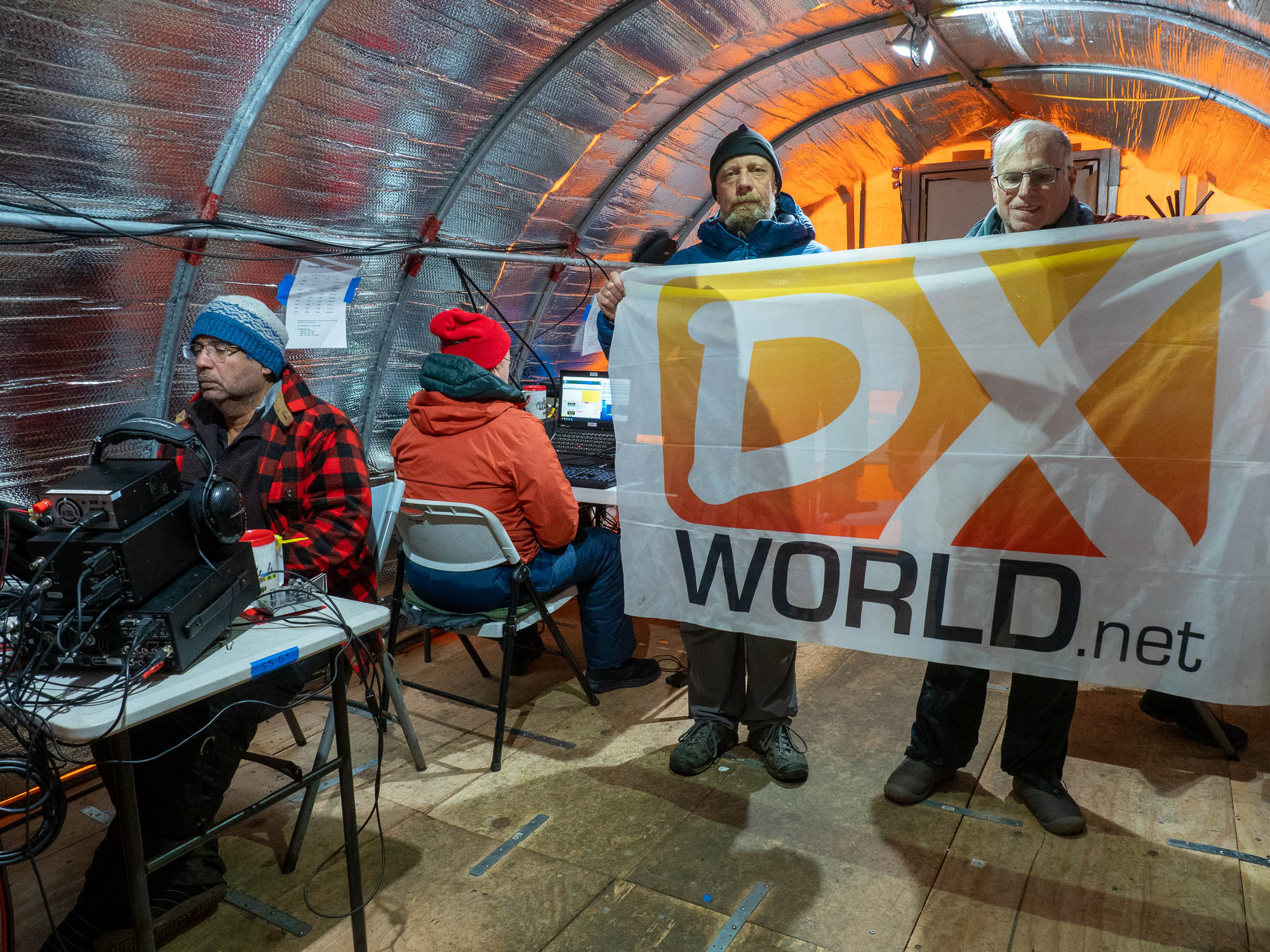 DX World flag visits South Orkney!