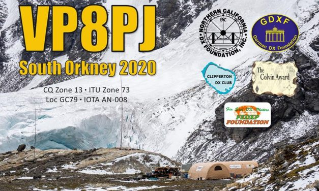 VP8PJ – South Orkney Islands