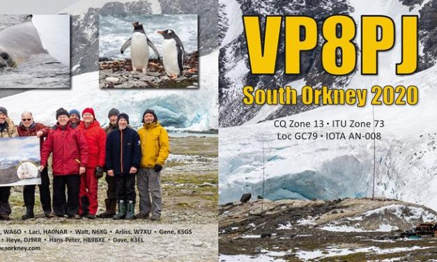 QSL preview – VP8PJ