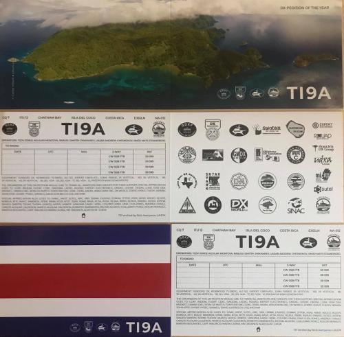 TI9A QSLs ready