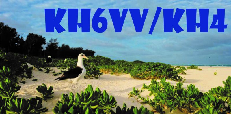 KH6VV/KH4 – Midway Atoll 2021
