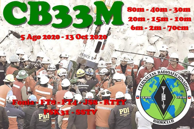 CB33M – 33 Miners Commemoration, Chile
