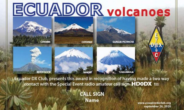 HD0DX – Ecuador Volcanoes