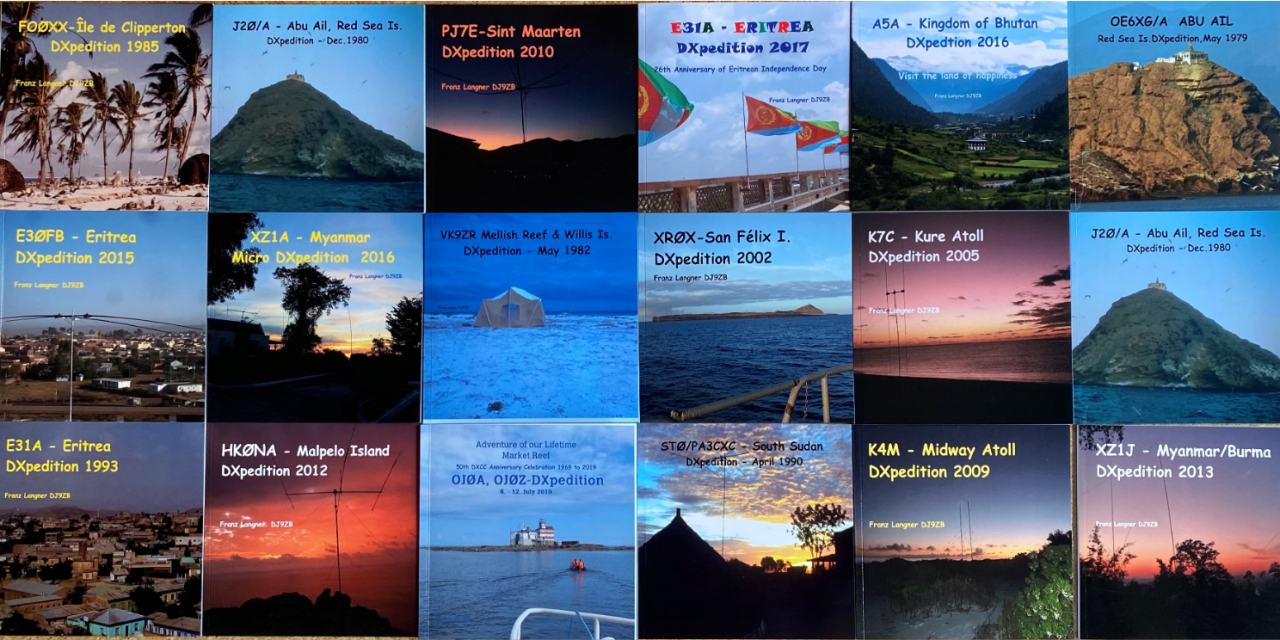 DXpedition Books by DJ9ZB