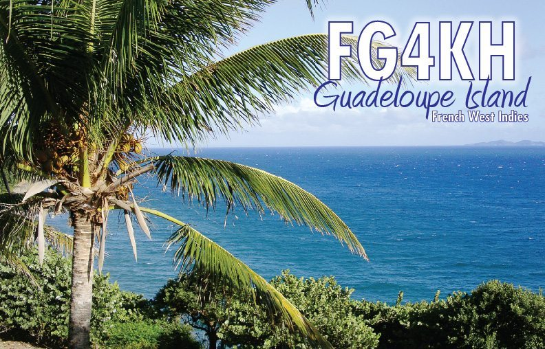 [CANCELLED] FG4KH – Guadeloupe
