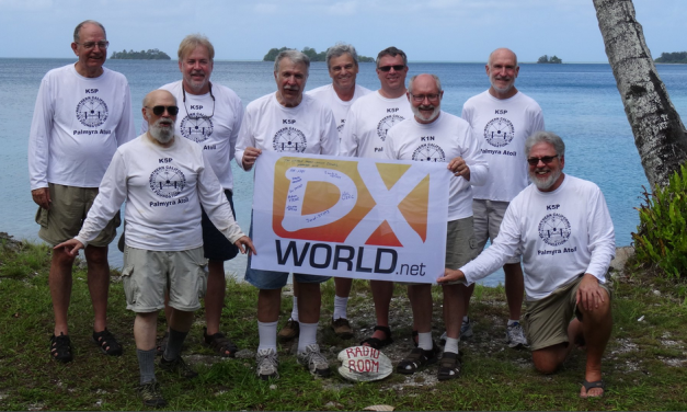 K5P DXpedition: Cursed Paradise of Palmyra Atoll