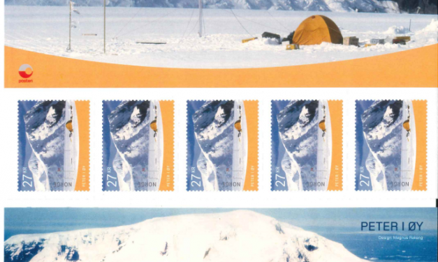 Peter 1 Island stamps!