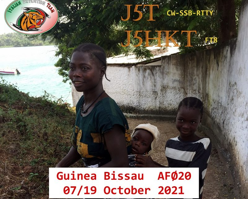 J5T & J5HKT – Guinea Bissau